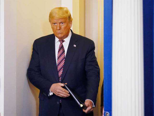 Donald Trump: How and when will Donald Trump leave office? - The Economic  Times