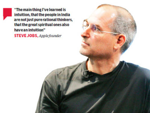 What Really Shaped Steve Jobs View Of India Realms Of Intuition Or The Pains Of Delhi Belly The Economic Times