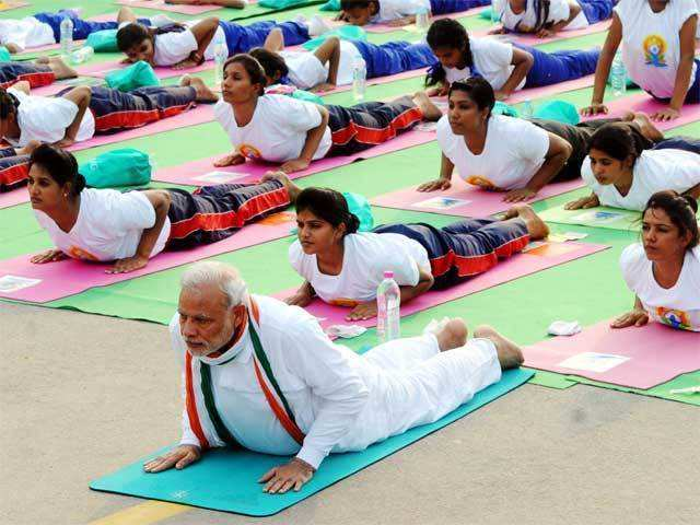 Over Rs 32 crore spent on International Yoga Day: Government - The ...