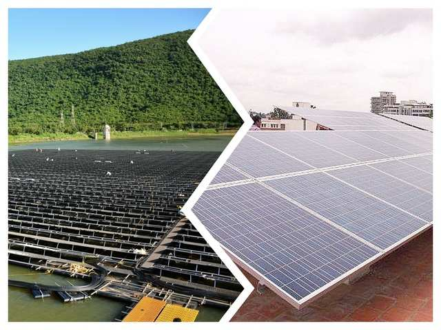 Off Grid Solar Power Plant On Grid Solar Power Systems Vs Off Grid Solar Power Systems Their Applications Advantages The Economic Times