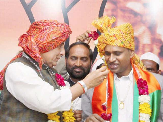 Dalit leader Udit Raj joins Bharatiya Janata Party