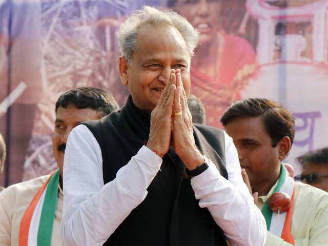 Ashok Gehlot: Rajasthan CM Ashok Gehlot looks optimistic about ...