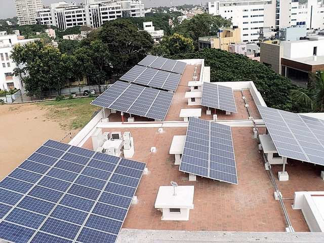 solar panel operation and maintenance: Solar panel operation and maintenance:  Popular packages, processes, services and cost involved - The Economic Times