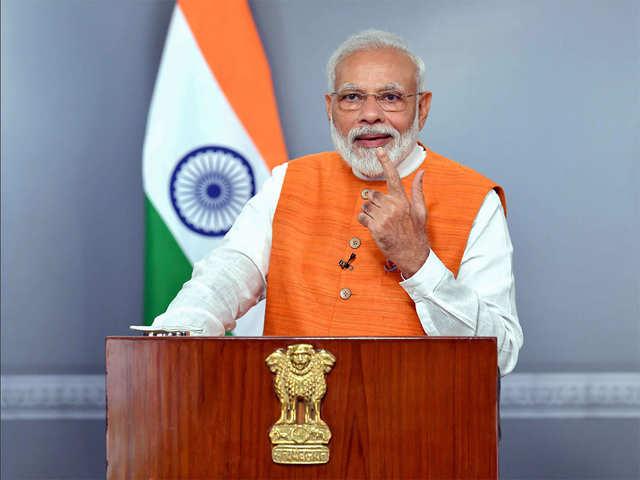 Pm Narendra Modi To Address Nation At 8 Pm Today On Coronavirus Outbreak The Economic Times