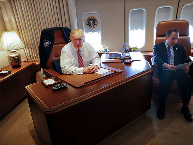 Donald Trump President Donald Trump Says Air Force One Is A Nice