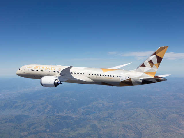 Etihad Aviation Group Etihad Airways To Resume Wider Network Of Flights After Uae Travel Restrictions Were Eased The Economic Times