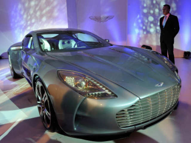 Aston Martin Launches Cars In India With Price Range Of Rs 1 35 To Rs 20 Crore The Economic Times