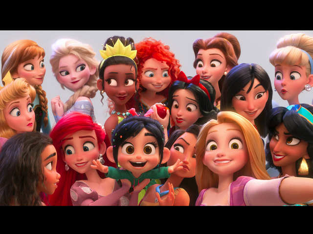 Ralph Breaks The Internet Ever Seen 14 Disney Princesses In One
