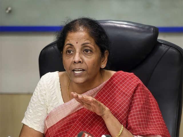 Infrastructure Secretaries Finance Minister Nirmala Sitharaman To