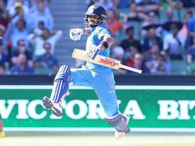 Virat Kohli becomes fastest to 24 ODI centuries - The Economic Times