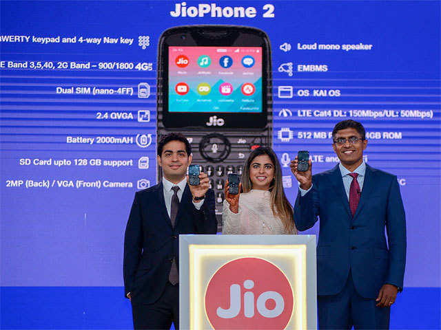 Jio Phone Reliance Jio S Rs 501 Phone Offer May Force Small
