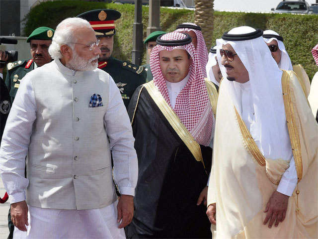 PM Modi in Riyadh: India, Saudi Arabia sign agreements to counter threat of cross-border terrorism - The Economic Times