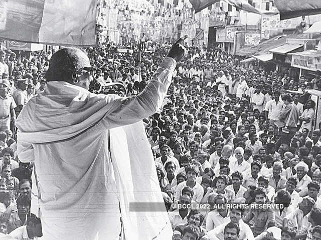 M Karunanidhi, Bal Thackeray & power of idols - The Economic