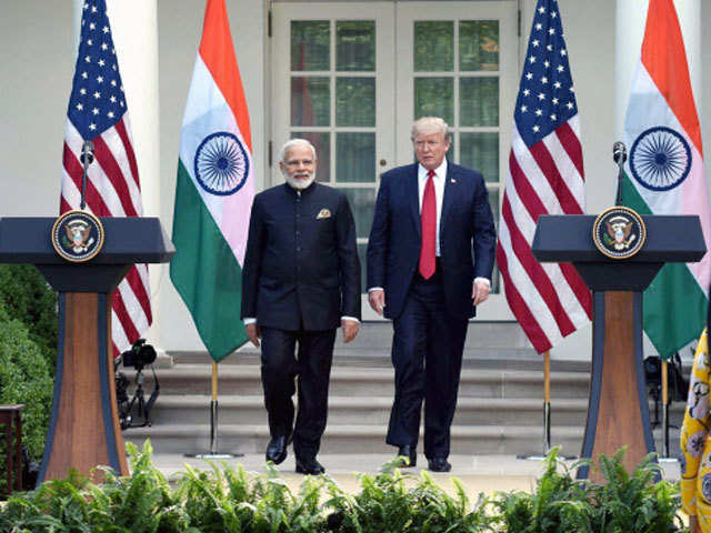 Indo-US relations: India, US vow to strengthen economic ties ...