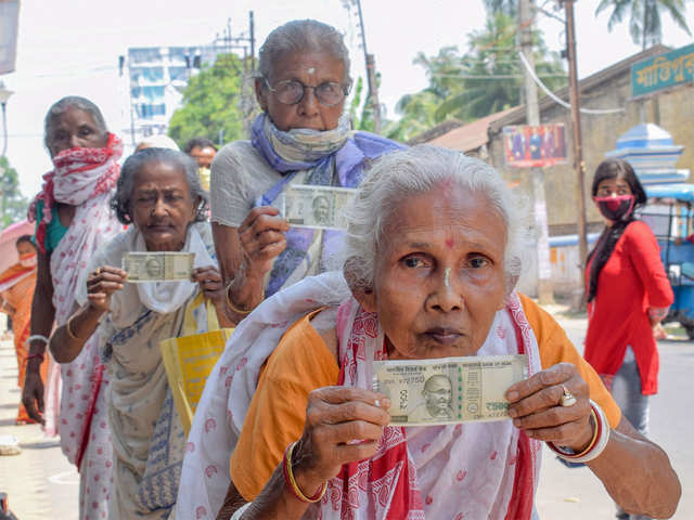 Bank transfer of 2nd installment of Rs 500 to women Jan Dhan a/c ...