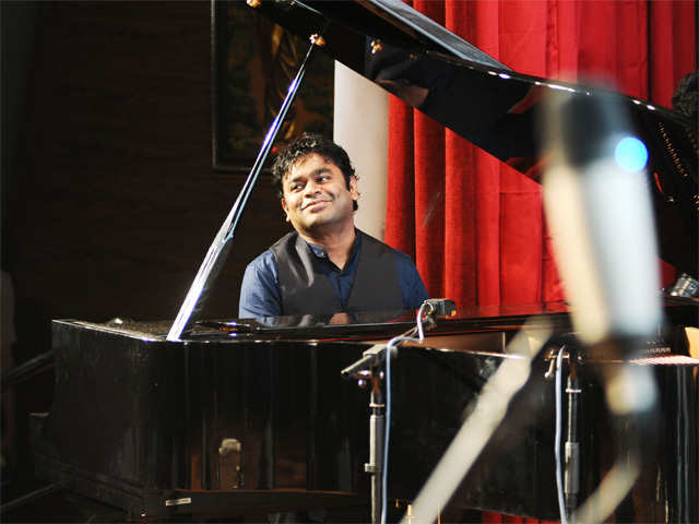 Image result for a r rahman with piano
